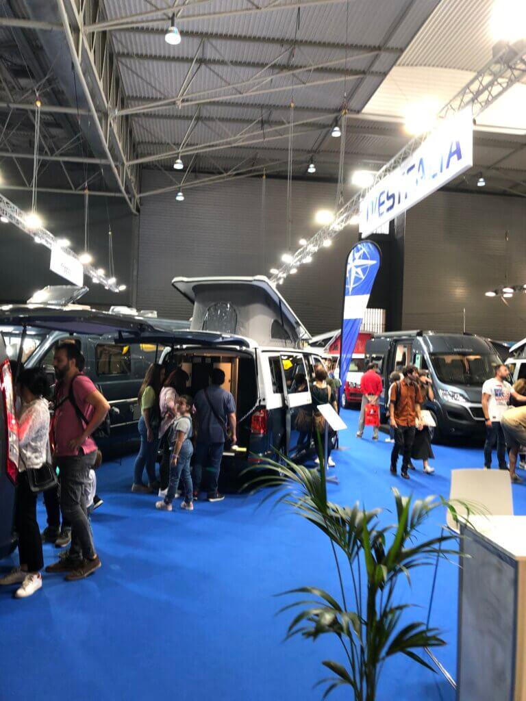Exposición salón internacional del Caravaning en Barcelona