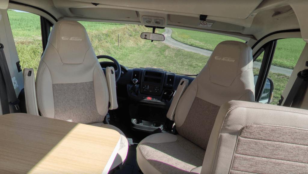 Font Vendome - Terra Nova 5 plazas homologadas asientos cabina